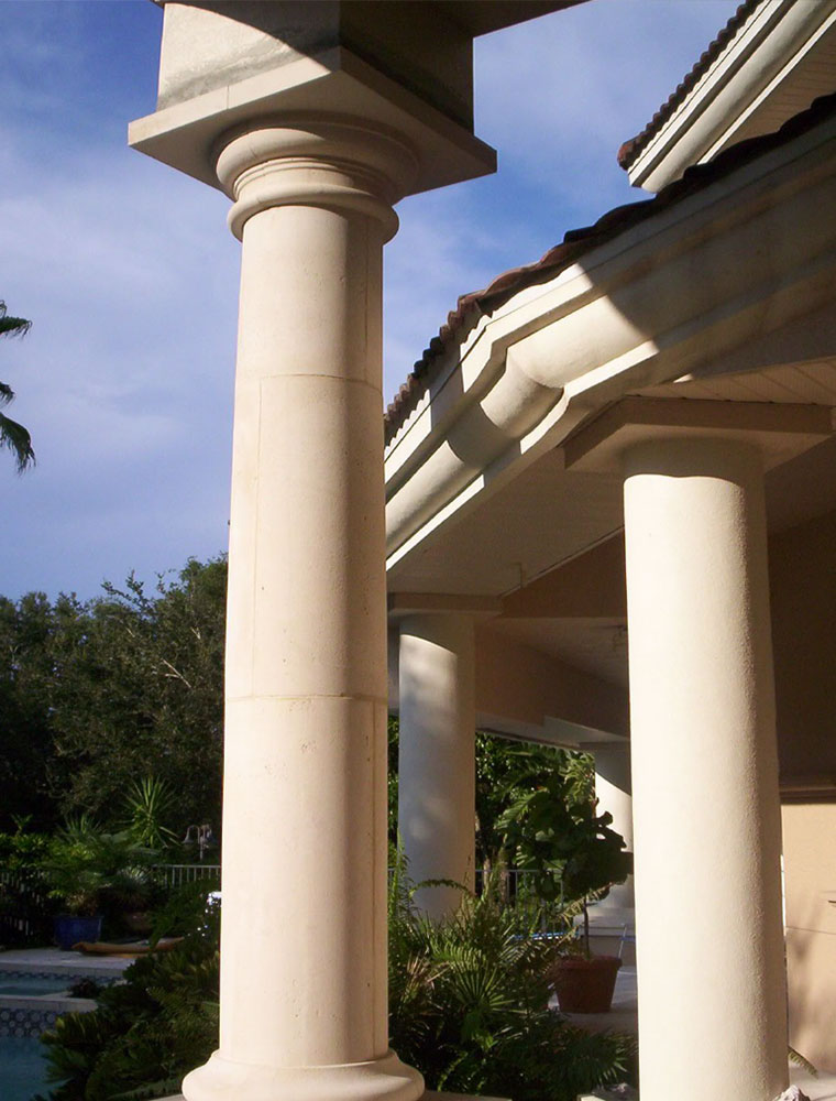 Precast And Foam Columns Manufactured To Your Specifications