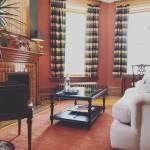 Walnut Suite Sitting Area - Castle La Crosse Bed and Breakfast