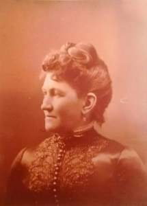 Mrs. Jesse Holway, Original Owner of Castle La Crosse, and nope! We did not find this in the attic!