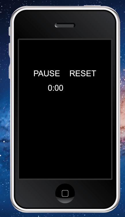 Timer with controls