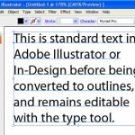Text to Outlines – how to convert text into outlines