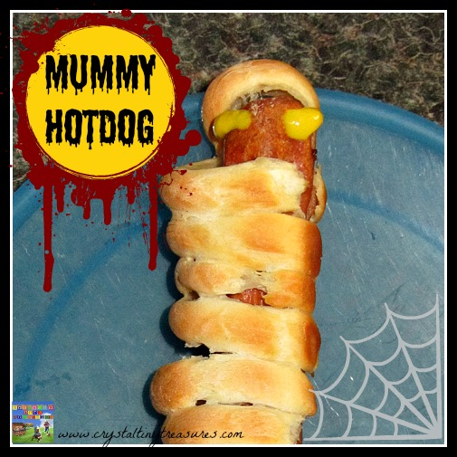 Mummy Hot dogs, Halloween treat for kids, Halloween party food