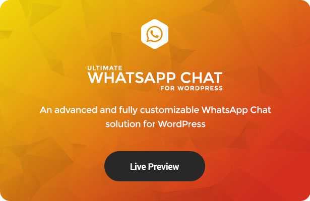 Ultimate WhatsApp Chat Support for WordPress - 3