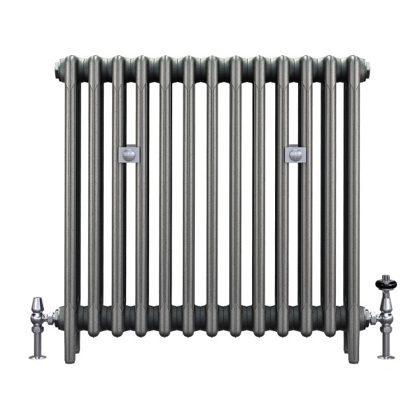 "Mercury 4 Column 30"" cast iron radiator from Castrads"
