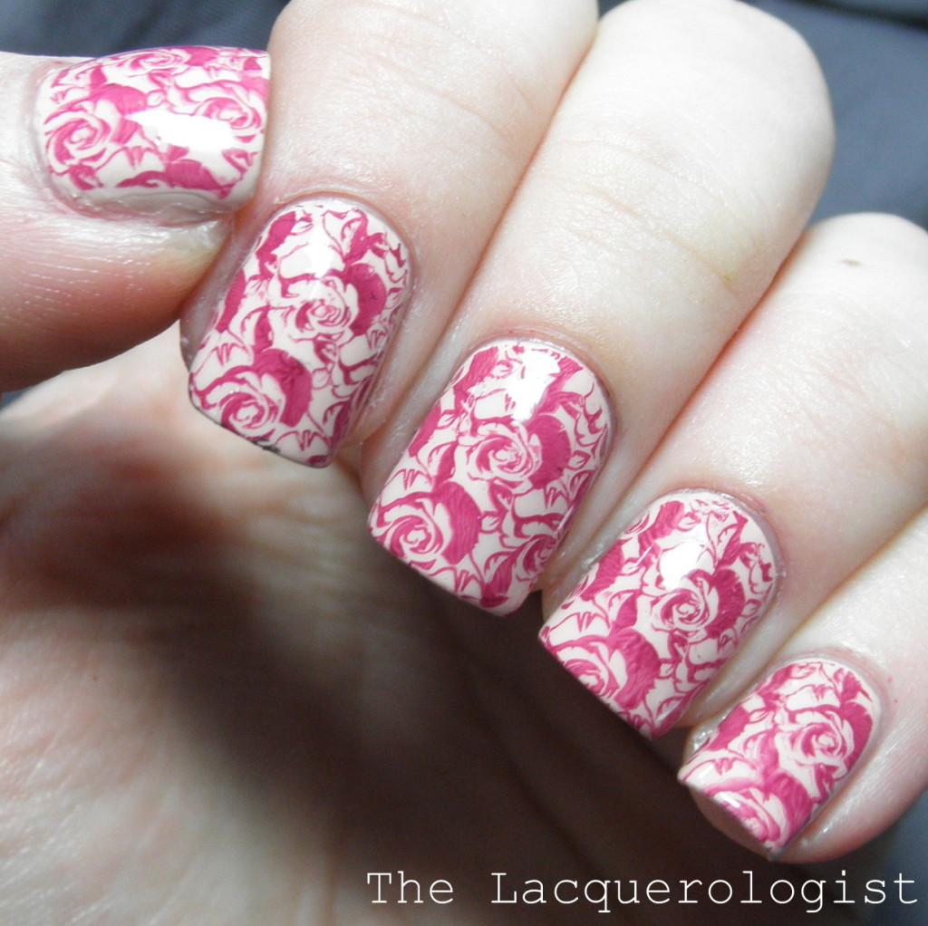 Bundle Monster Rose Nail Art Casual Contrast