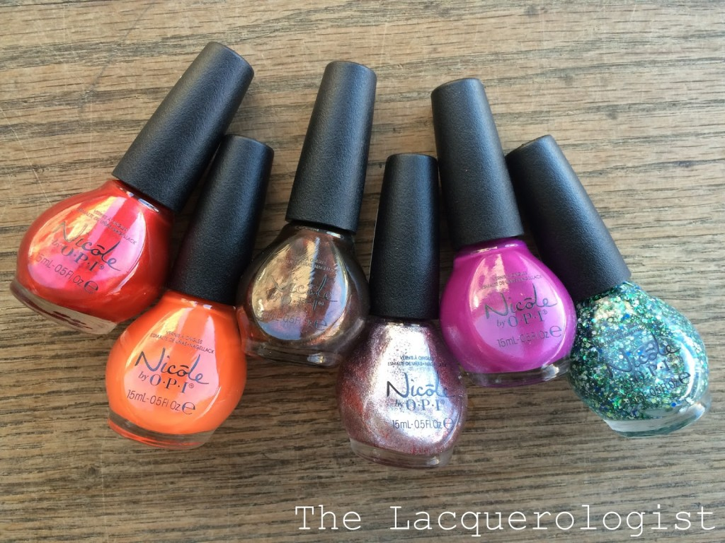 Nicole by OPI Cocoa-Cola Collection: Swatches & Review • Casual Contrast