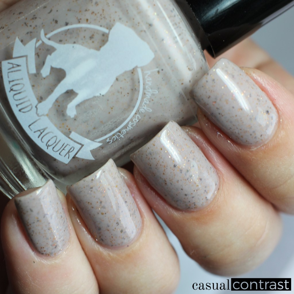 ALIQUID Mourning Dove from the ALIQUID Nail Polish Is For The Birds Collection • Casual Contrast