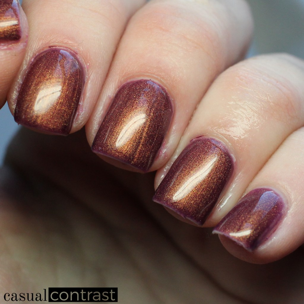 LeChat Sunset Beach cold state - LeChat Perfect Match Mood Color Changing Gel Polish: Swatches & Review • Casual Contrast