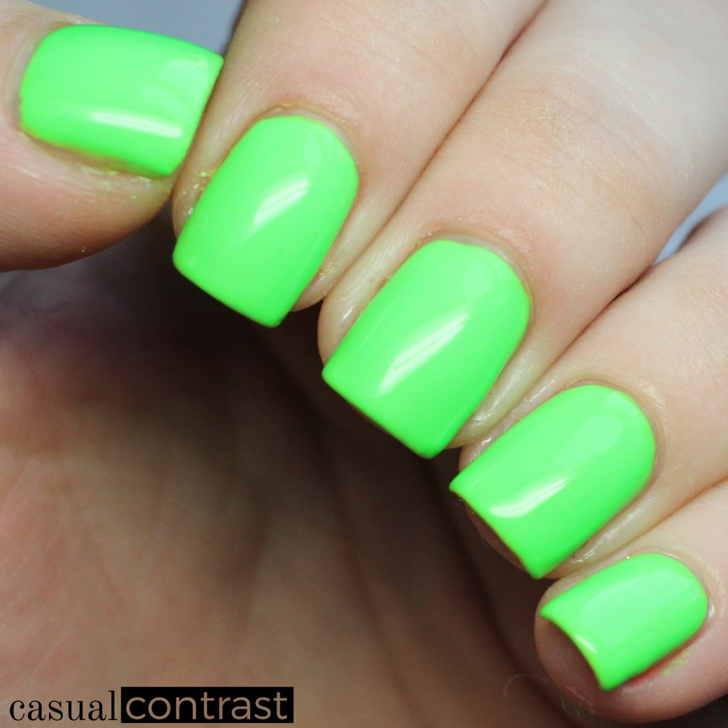 KBShimmer Race Against Slime from the KBShimmer All The Bright Moves Collection • Casual Contrast