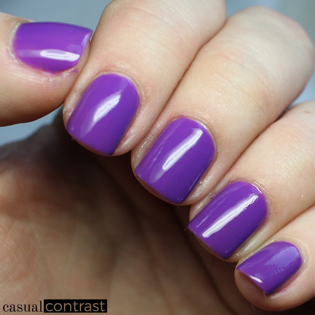 LXV Reine from the LVX Spring Summer 2017 Nail Lacquer Collection • Casual Contrast