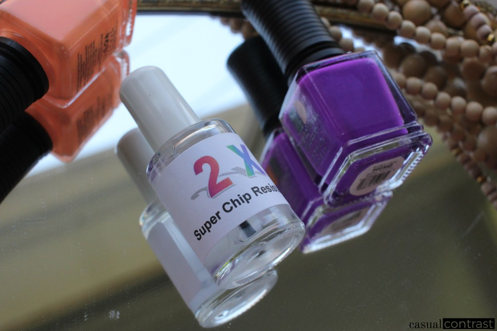 Extend your Manicure with 2X Super Chip Resistance • Casual Contrast