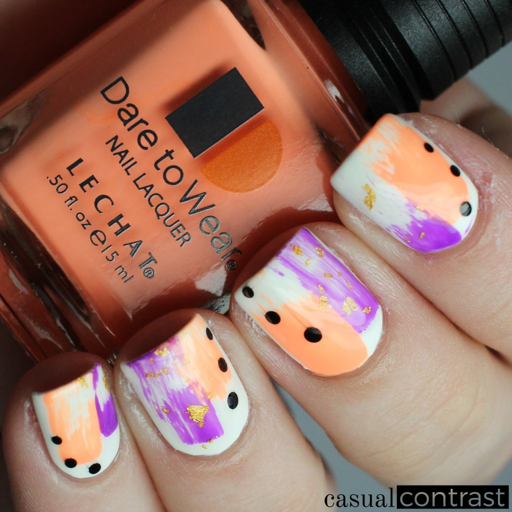 Abstract Neon Nail Art Manicure (and a love letter to Dr. Dana)! • Casual Contrast