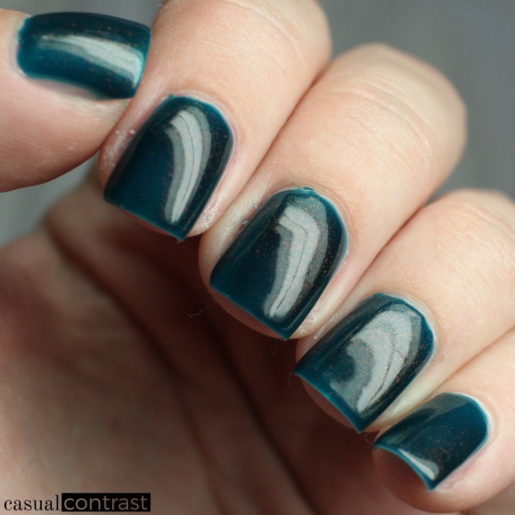 KBShimmer Goal Digger from the KBShimmer Unicorn Pee Polishes • Casual Contrast