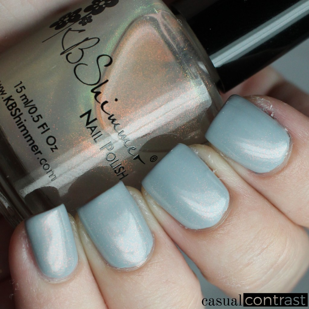 KBShimmer You Dew You from the KBShimmer Unicorn Pee Polishes • Casual Contrast