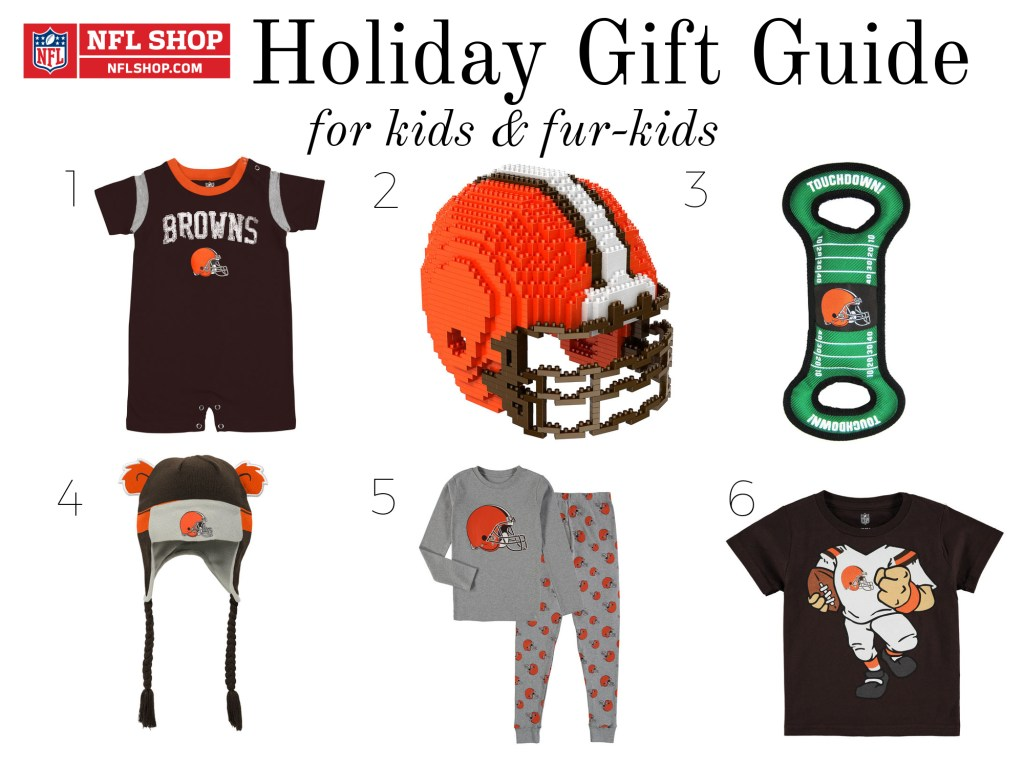 The Ultimate Football Fan Holiday Gift Guide 2017 with NFLShop.com •Casual Contrast