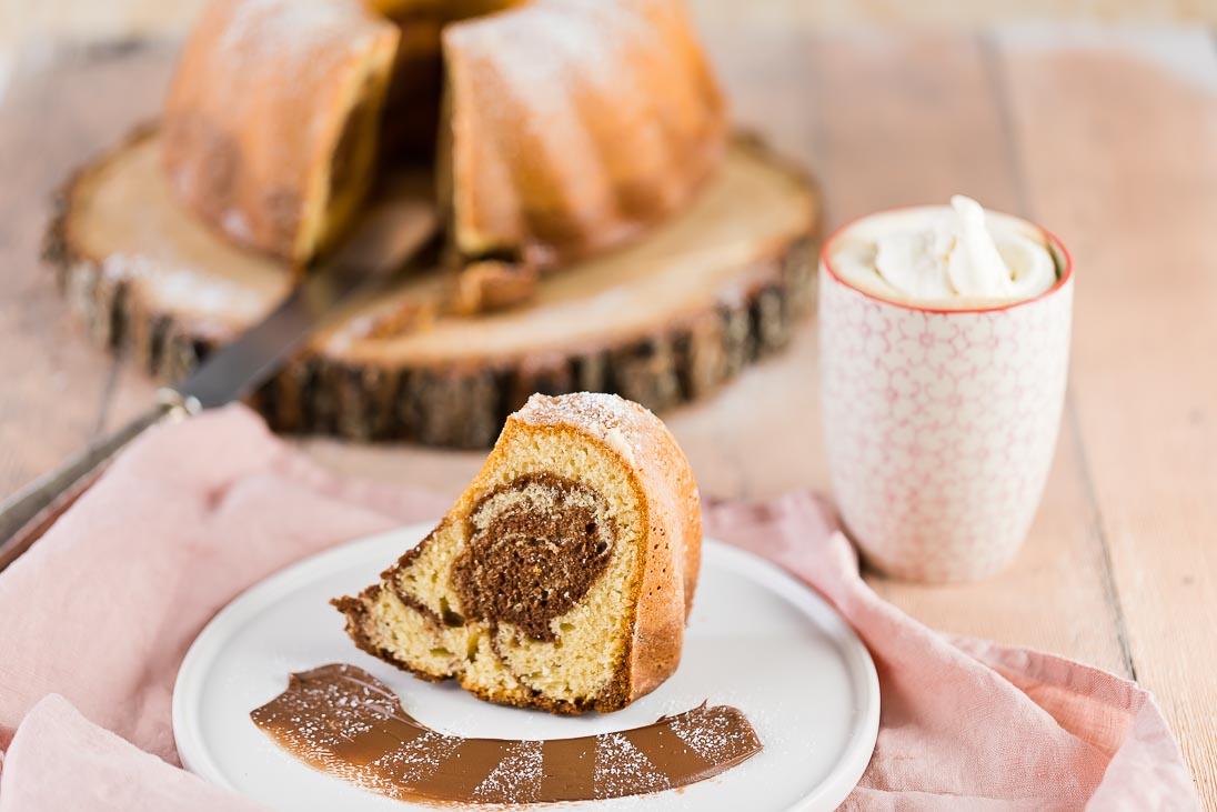 Marmorgugelhupf mit Nutella Nutella Kuchen casual cooking österreichischer food blog