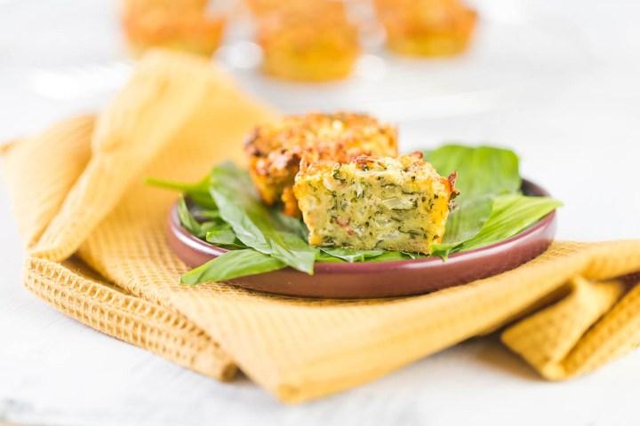 Baerlauch Muffins Baerlauchmuffins casual cooking österreichischer food blog
