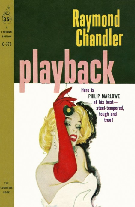 Playback by Raymond Chandler Cover art by William Rose