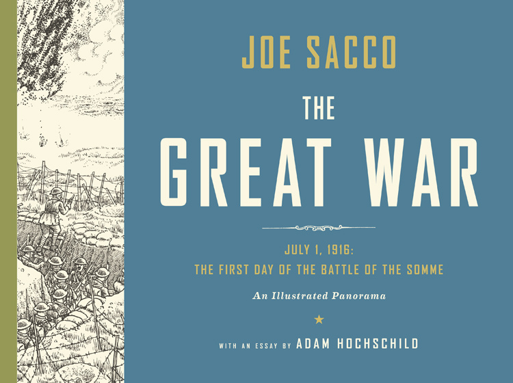 Image result for great war joe sacco book cover