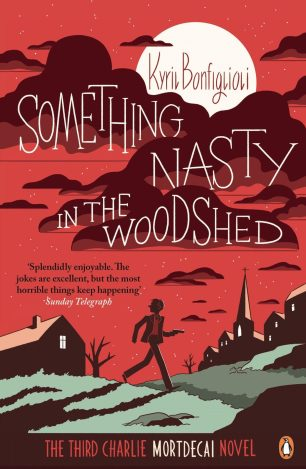 Something Nasty in the Woodshed by Kyril Bonfiglioli; design by Richard Green; illustration by Luke Pearson (Penguin / 2014)