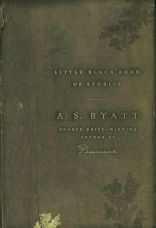 Little Black Book of Stories by A. S. Byatt; design by Gabriele Wilson (Knopf, April 2004)