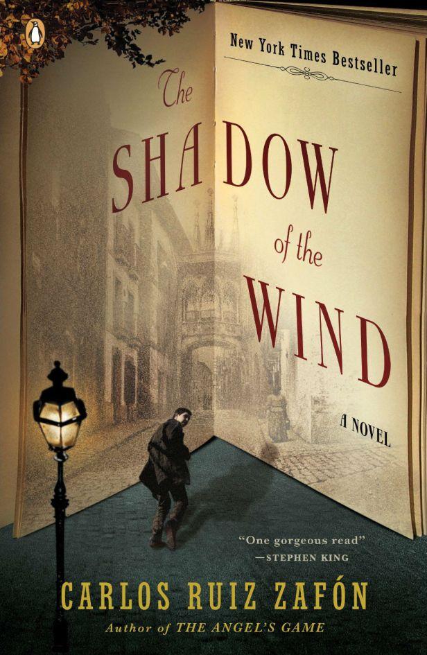 The Shadow of the Wind by Carlos Ruiz Zafon; design by Tal Goretsky (Penguin, January 2005)