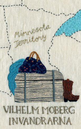 Invandrarna by Vilhelm Moberg; design by Karin Holmberg (Bonnier Pocket / January 2013)