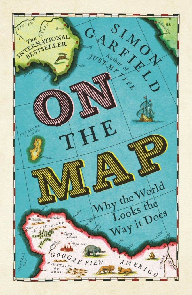 Book Cover Craft Map ~ Maps on book covers the casual optimist