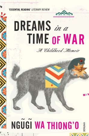 Dreams in Time of War by Ngũgĩ wa Thiong'o; design by Peter Mendelsund (Pantheon / March 2010)