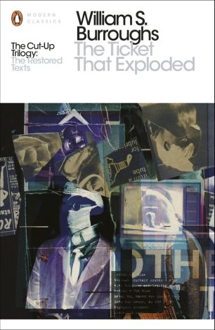 The Ticket That Exploded by William Burroughs; cover art by Julian House (Penguin Classics 2014)