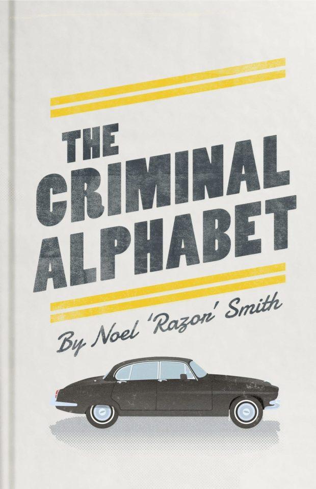 Criminal Alphabet design by Edward Bettison
