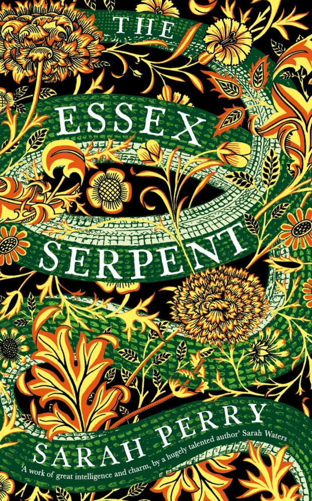 Essex Serpent design Peter Dyer