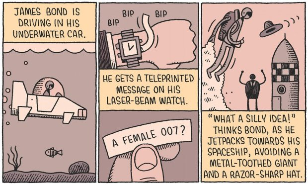 James Bond Tom Gauld