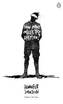 How Many Miles to Babylon by Jennifer Johnston; design David Foldvari (Penguin / 2016)