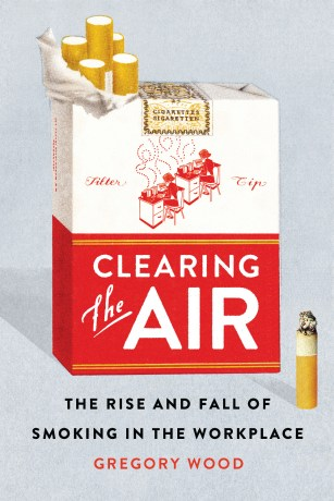 Clearing the Air by Gregory Wood; design by Phil Pascuzzo (Cornell University Press / November 2016)