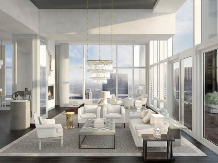 Baccarat Residences Living Room