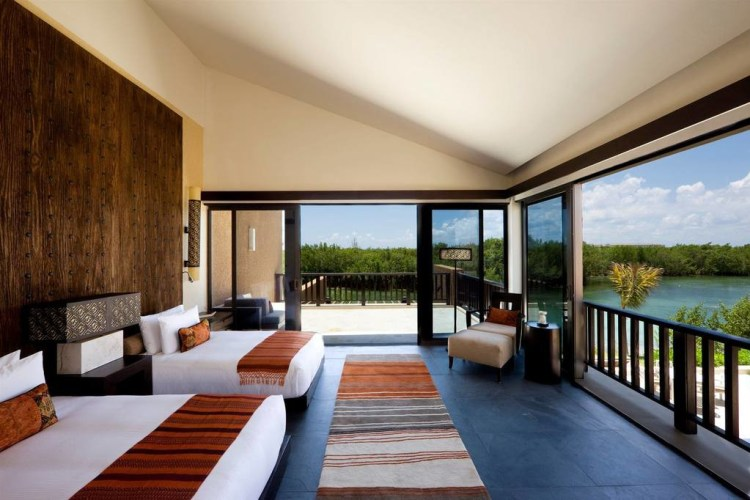 Banyan Tree Mayakoba Villa Bedroom