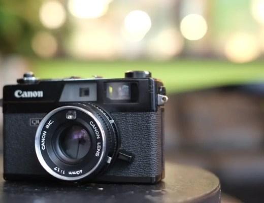 Canonet Black Rangefinder