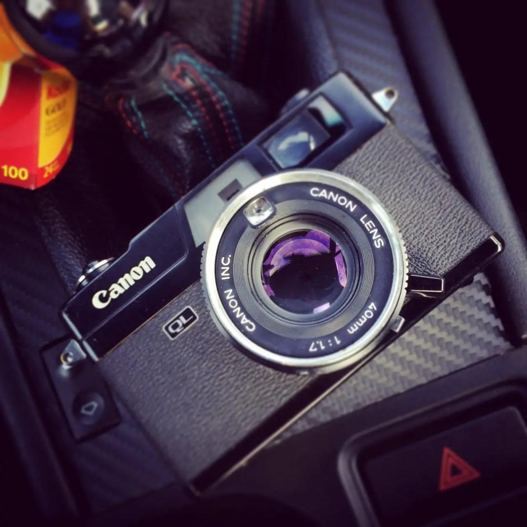 Canonet Black Canon