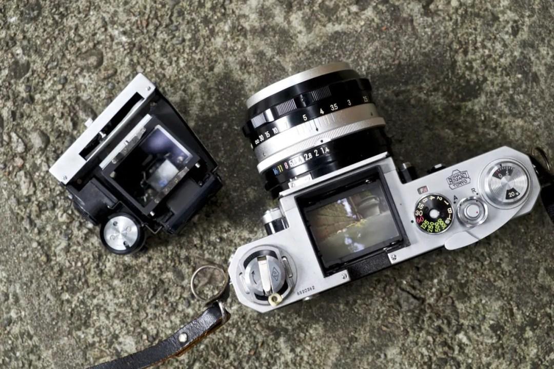 Nikon F Viewfinder