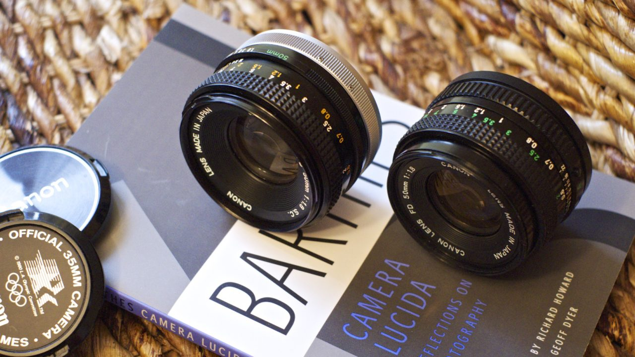 Canon FD 50mm F/1 8 Lens Review - The Original Nifty Fifty - Casual