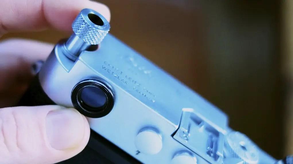 Leica Rewind Lever