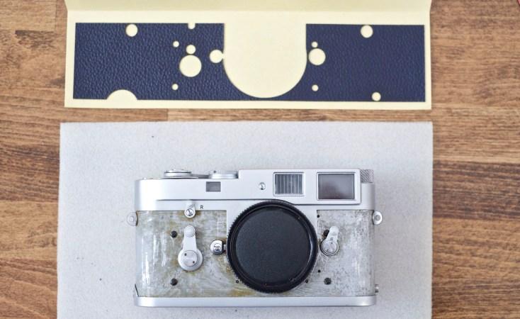 Leica M2 Vulcanite Replacement 3