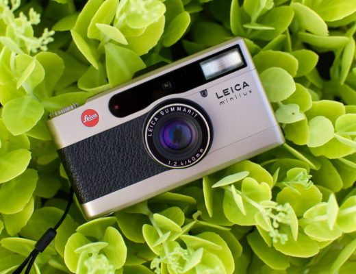 Leica Minilux point and shoot 35mm film camera 2