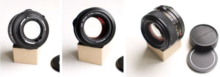 Minolta MD 50mm 1.4 Lens Review
