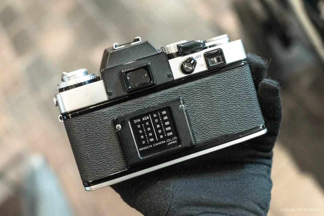 Minolta XE-5 Camera Review (4 of 16)