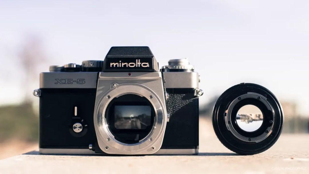 Minolta XE-5 Camera Review (6 of 16)