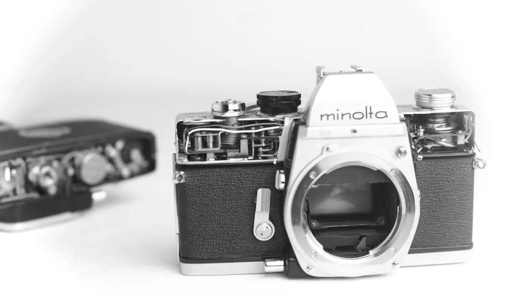 mechanical camera minolta srt