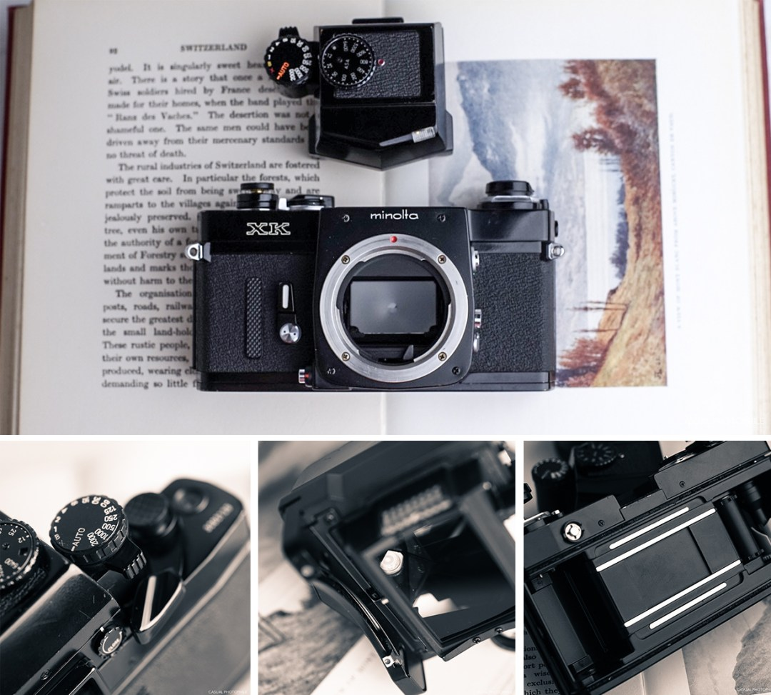 Minolta XK Review Mosaic number one