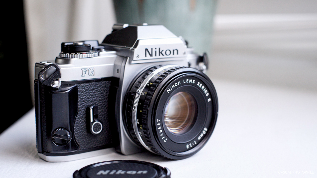 nikon fg camera review casual photophile rh casualphotophile com Nikon Film Cameras Vintage Nikon Camera Accessories